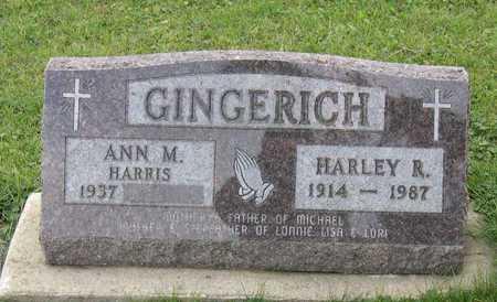 GINGERICH, HARLEY R. - Linn County, Iowa | HARLEY R. GINGERICH