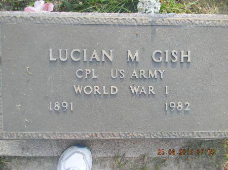 GISH, LUCIAN M. - Linn County, Iowa | LUCIAN M. GISH