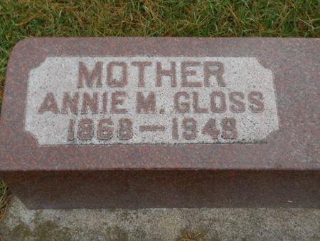 GLOSS, ANNIE M.   (ANNIE MAY) - Linn County, Iowa | ANNIE M.   (ANNIE MAY) GLOSS