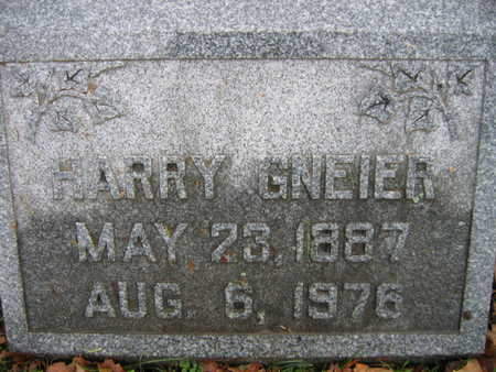 GNEIER, HARRY - Linn County, Iowa | HARRY GNEIER