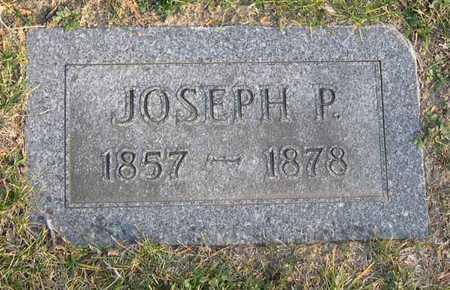 GOLDSBERRY (?), JOSEPH P. - Linn County, Iowa | JOSEPH P. GOLDSBERRY (?)
