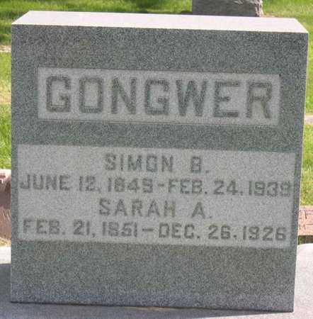 GONGWER, SIMON B. - Linn County, Iowa | SIMON B. GONGWER