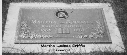 GOODALL, MARTHA - Linn County, Iowa | MARTHA GOODALL