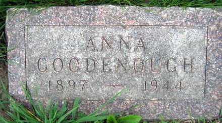 GOODENOUGH, ANNA - Linn County, Iowa | ANNA GOODENOUGH