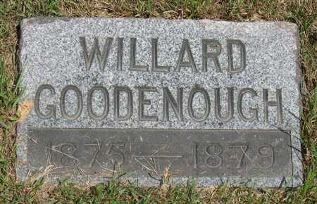 GOODENOUGH, WILLARD - Linn County, Iowa | WILLARD GOODENOUGH