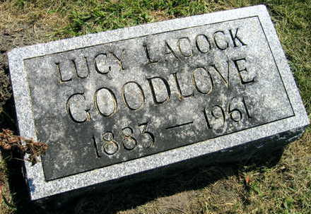 GOODLOVE, LUCY - Linn County, Iowa | LUCY GOODLOVE