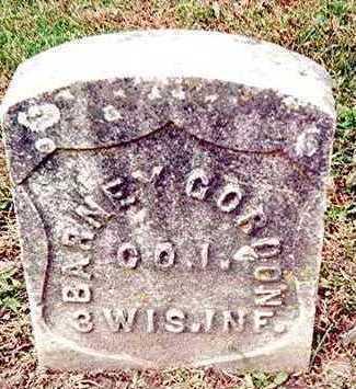 GORDON, BARNEY - Linn County, Iowa | BARNEY GORDON