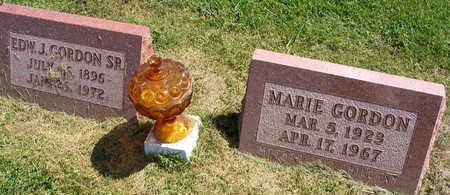 GORDON, MARIE - Linn County, Iowa | MARIE GORDON