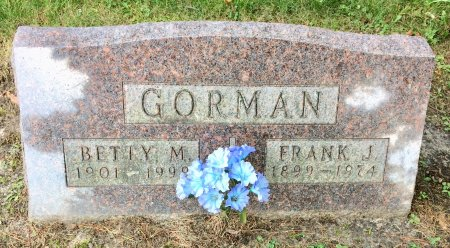 GORMAN, FRANK J. - Linn County, Iowa | FRANK J. GORMAN