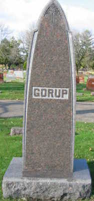 GORUP, FAMILY STONE - Linn County, Iowa | FAMILY STONE GORUP