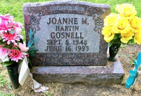 HARTIN GOSNELL, JOANNE M. - Linn County, Iowa | JOANNE M. HARTIN GOSNELL
