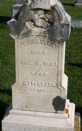GOUDY, JOSIAH - Linn County, Iowa | JOSIAH GOUDY