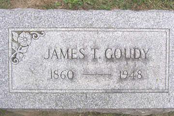 GOUDY, JAMES T. - Linn County, Iowa | JAMES T. GOUDY