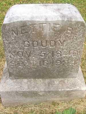 GOUDY, NETTIE B. - Linn County, Iowa | NETTIE B. GOUDY