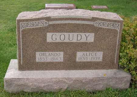GOUDY, ALICE - Linn County, Iowa | ALICE GOUDY