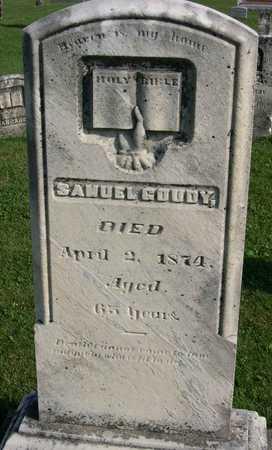 GOUDY, SAMUEL - Linn County, Iowa | SAMUEL GOUDY