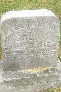 GOUDY, WILLIAM M. - Linn County, Iowa | WILLIAM M. GOUDY