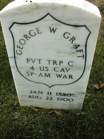 GRAFT, PVT. GEORGE W. - Linn County, Iowa | PVT. GEORGE W. GRAFT