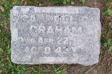 GRAHAM, CARROLL C. - Linn County, Iowa | CARROLL C. GRAHAM