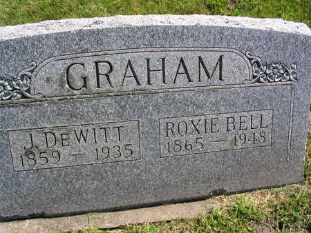 GRAHAM, ROXIE - Linn County, Iowa | ROXIE GRAHAM