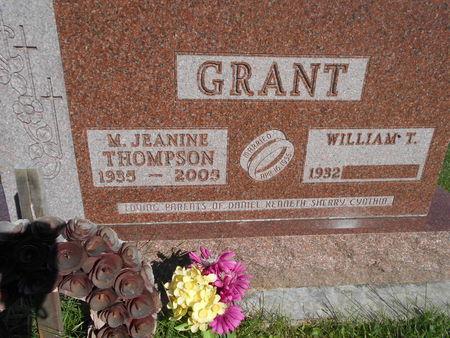 GRANT, MARY JEANINE - Linn County, Iowa | MARY JEANINE GRANT