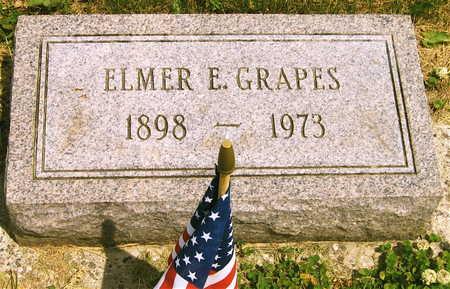 GRAPES, ELMER E. - Linn County, Iowa   ELMER E. GRAPES