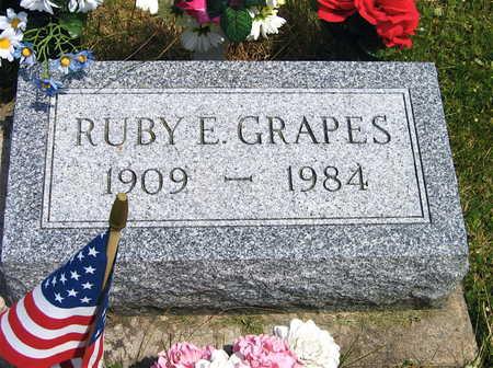GRAPES, RUBY E. - Linn County, Iowa | RUBY E. GRAPES