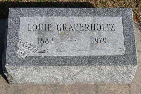 GRAUERHOLTZ, LOUIE - Linn County, Iowa | LOUIE GRAUERHOLTZ