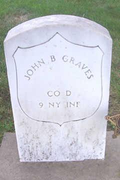 GRAVES, JOHN B. - Linn County, Iowa   JOHN B. GRAVES