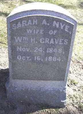 NYE GRAVES, SARAH - Linn County, Iowa | SARAH NYE GRAVES