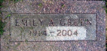 GREEN, EMILY A. - Linn County, Iowa   EMILY A. GREEN