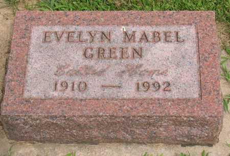 GREEN, EVELYN MABEL - Linn County, Iowa | EVELYN MABEL GREEN