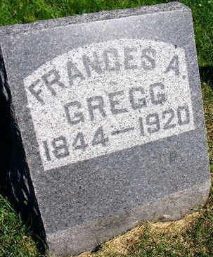 GREGG, FRANCES A. - Linn County, Iowa | FRANCES A. GREGG