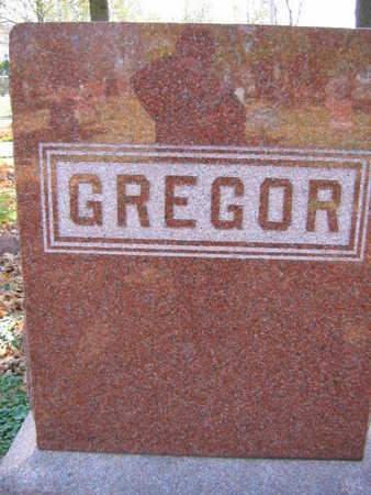 GREGOR, FAMILY STONE - Linn County, Iowa | FAMILY STONE GREGOR