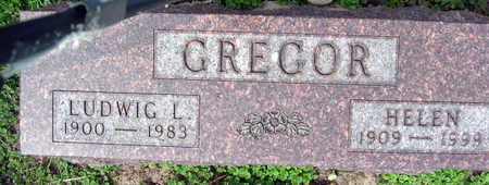 GREGOR, HELEN - Linn County, Iowa | HELEN GREGOR