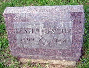 GREGOR, LESTER - Linn County, Iowa   LESTER GREGOR