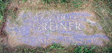 GREINER, KENNETH LEO - Linn County, Iowa   KENNETH LEO GREINER