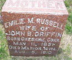GRIFFEN, EMILIE M. - Linn County, Iowa | EMILIE M. GRIFFEN