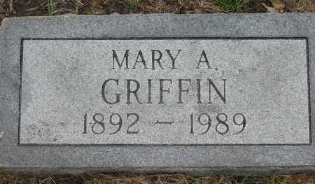 GRIFFIN, MARY A. - Linn County, Iowa | MARY A. GRIFFIN