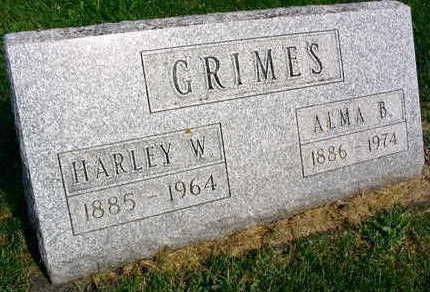 GRIMES, HARLEY W. - Linn County, Iowa   HARLEY W. GRIMES