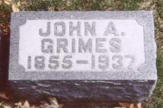 GRIMES, JOHN A. - Linn County, Iowa | JOHN A. GRIMES