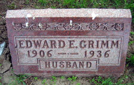 GRIMM, EDWARD E. - Linn County, Iowa | EDWARD E. GRIMM