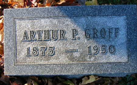GROFF, ARTHUR P. - Linn County, Iowa | ARTHUR P. GROFF