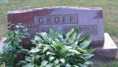 GROFF, HAROLD H. - Linn County, Iowa   HAROLD H. GROFF