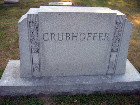 GRUBHOFFER, FAMILY STONE - Linn County, Iowa | FAMILY STONE GRUBHOFFER