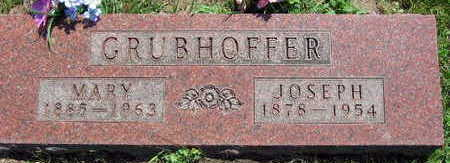 GRUBHOFFER, MARY - Linn County, Iowa | MARY GRUBHOFFER
