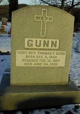 GUNN, REV. THOMAS F. - Linn County, Iowa | REV. THOMAS F. GUNN