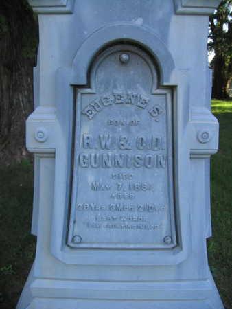 GUNNISON, EUGENE S. - Linn County, Iowa | EUGENE S. GUNNISON