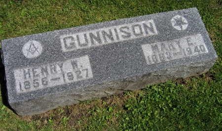 GUNNISON, HENRY W. - Linn County, Iowa | HENRY W. GUNNISON
