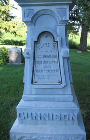 GUNNISON, OLIVE D. - Linn County, Iowa | OLIVE D. GUNNISON